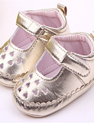Baby Shoes Casual Flats Purple/Silver/Gold