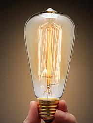 Ecolight® E27 40W 3700K WarmWhite Loft Retro Industry Incandescent Bulb Edison Bulb(AC220~265V