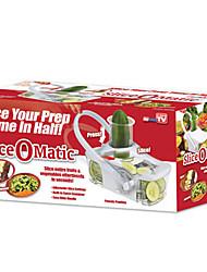 Tranche Mastic Peeler de trancheuse de cuisine Râpe, W34cm x L16cm x H15cm