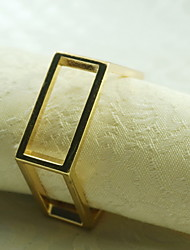 Metal Decoration Napkin Ring, Metal, 1.77Inch, Set of 12