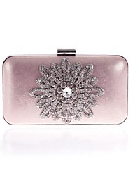 L.WEST Woman Fashion Acrylic Jewels Evening Bag
