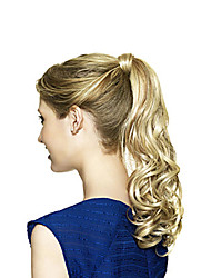 Top Grade Quality Synthetic Golden Wavy Ponytail