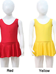 Nylon/Lycra Tank Leotard with Skirts More Colors for Girls and Ladies