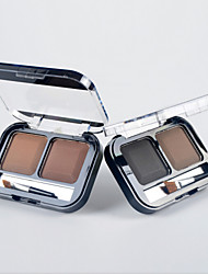 2 Colors Eyebrow Powder(6 Selectable Colors)
