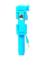 Super-Mini verdrahtete selfie Stick mit Spiegel Handheld Einbeinstativ portable self-portrait Stockhalter für iphone