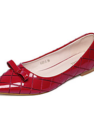 Women's Shoes  Flat Heel Pointed Toe Flats Casual Black/Red