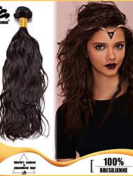 4pcs Brazilian Virgin Hair Narural Wave 8-30 Inches Human Hair Brazilian Dark Brown Human Hair