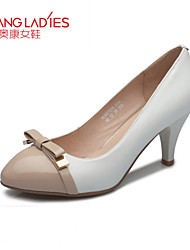 Zapatos de mujer Cuero Tacón Stiletto Tacones/Comfort/Puntiagudos/Punta Cerrada TaconesBoda/Exterior/Oficina y