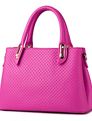 Women's Fashion Casual OL PU Messenger Shoulder Bag/Totes