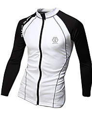 Men's Long Sleeve Jacket , Spandex Casual/Sport Print