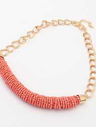 Kubao High Quality Geometric Bead Necklace