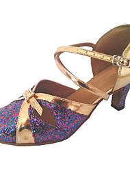 Zapatos de baile (Multicolor) - Zapatos Estándar Tacón Personalizado