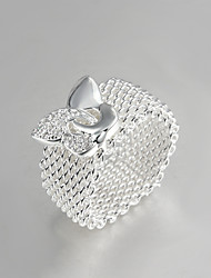 Hot Selling Products Italy S925 Silver Plated Ring Wholesale Price Fashion Jewelry Ring