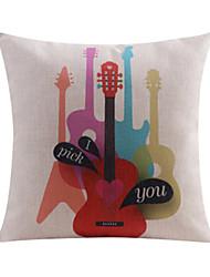 Music I Pick You Cotton/Linen Decorative Pillow Cover