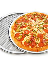 9-inch Round Pizza Mesh Baking Net Pan Thicken Aluminium Pizza tray