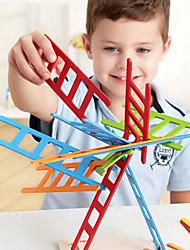 Chuchería colorido 25pcs juguetes apilador escalera de madera educativo