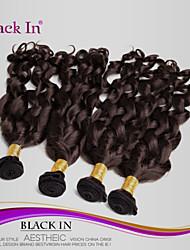 "4Pcs/Lot 8""-28"" Unprocessed Brazilian Virgin Hair Dark Brown Spiral Curl Human Hair Weave 100% Human Hair"