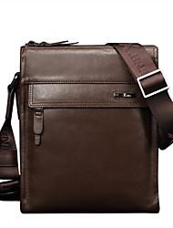 marrón cuero genuino únicos maletines de diseño del bolso de visita del vintage únicas bolsas de hombro mensajero originales