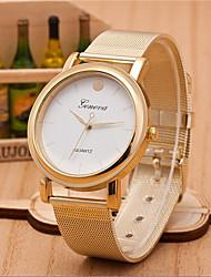 Men And Weman Alloy Mesh Belt  Wrist Watch Cool Watch Unique Watch