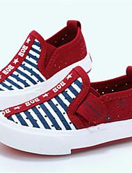 Baby Shoes - Casual - Sneakers alla moda - Di corda - Blu / Borgogna