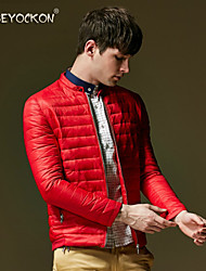 BEYOCKON 2015 Men's fashionable new light down jacket,Korean's winter coat