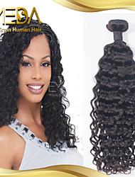 brésiliens vierges vague d'eau de cheveux humains de qualité de promium tisse 1pcs naturel noir 8 '' - 30 ''
