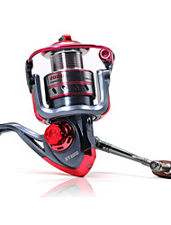 XY4000 5.2:1 11+1 Ball Bearings Freshwater Fishing Carp Fishing Spinning Reels Left and Right Handle