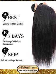 pelo virginal brasileño recto de 10 pulgadas 3pcs / lot 100g / pcs barato pelo brasileño 100% cabello humano