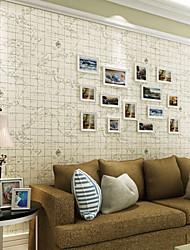 neue Regenbogen ™ Tapete Karte Muster Hintergrund Art-Deco-Wandverkleidung, Art-Deco-Vliespapier