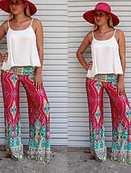 VOV     Women's Pants , Polyester Sexy/Beach/Casual/Print VOV