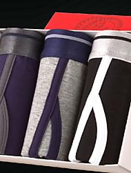 Men's Viscose Sexy Boxers Shorts Underpants Underwear 3pcs/lot