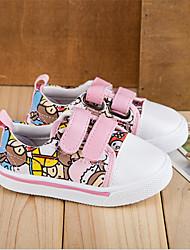 Baby Shoes-Casual-Sneakers alla moda-Di corda-Giallo / Rosa