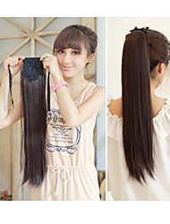 Synthetic Horsetail Ponytail  Hairpiece Medium Brown Colors Available