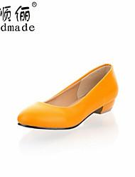 Women's Shoes Synthetic Chunky Heel Heels/Basic Pump/Comfort Pumps/Heels Wedding/Office & Career/Party