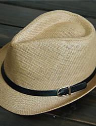 British Style Leather Hat Jazz