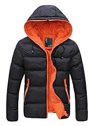 Men's Coats & Jackets , Cotton Long Sleeve Casual YYZ