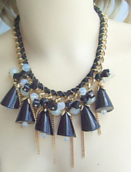 Fashion Summer Statement Necklace, Bubble Necklace, Bubble Bib necklace, Chunky Necklace, Bib Necklace