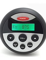 h-808 impermeable mp3& radio FM / AM reproductor de audio estéreo con el carro de la función del bluetooth forgolf