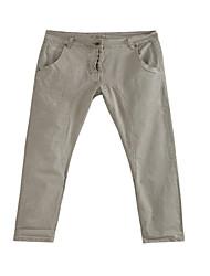 Women's Grey Loose Casual Pants