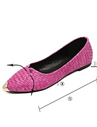 Women's Shoes Flat Heel Comfort Flats Casual Black/Pink/White