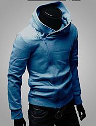 Men's Sweats & Hoodies , Cotton Blend Long Sleeve Casual YYZ