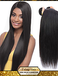 "pelo virginal peruana recta 3pcs 8 ""-30"" 100g / bundle"