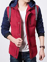 Men's  Slim Fit Hooded Coat