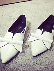 Women's Shoes   Flat Heel Pointed Toe Flats Casual Black/White