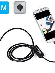Android OTG Endoscope 7mm Mini Waterproof Endoscope Inspection Snake Camera for Samsung Galaxy S5/S6 Note 2/3/4