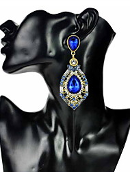 Julie Women Earring , Vintage / Party / Casual Alloy / Cubic Zirconia / Rhinestone / Beaded / Crystal