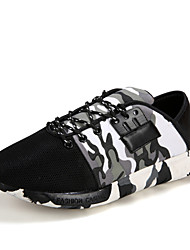 Running Men's Shoes Fabric/Tulle Black/Gray