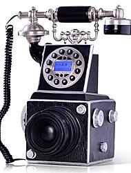 Novelty Creative CID Home Decoration Vintage Camera Antique Telephone