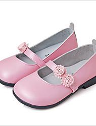 Baby Shoes - Casual - Ballerine - Di pelle - Rosa / Dorato