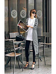 W.W.W  Women's Square Coats & Jackets , Cotton Sexy/Casual/Party/Work Long Sleeve